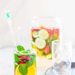 Strawberry Cucumber Detox Water Recipe, How to make Strawberry Cucumber Detox water.