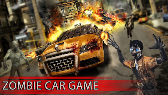 Zombie Derby 3D : City Attack Zombie Car Game - náhled