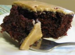 Devil's Food Cake With Burnt Sugar Frosting Recipe