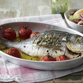 Sea Bream with Orange and Fennel Salad