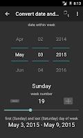 Screenshot of TKWeek