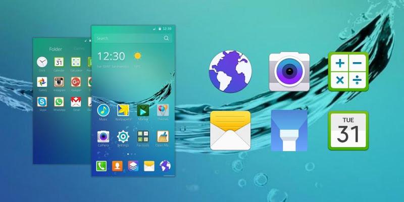 Theme/wallpaper for Samsung - screenshot