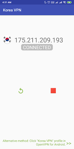 Korea VPN screenshot 4
