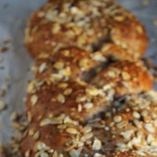 Multi-Grain Olive Braid Bread.
