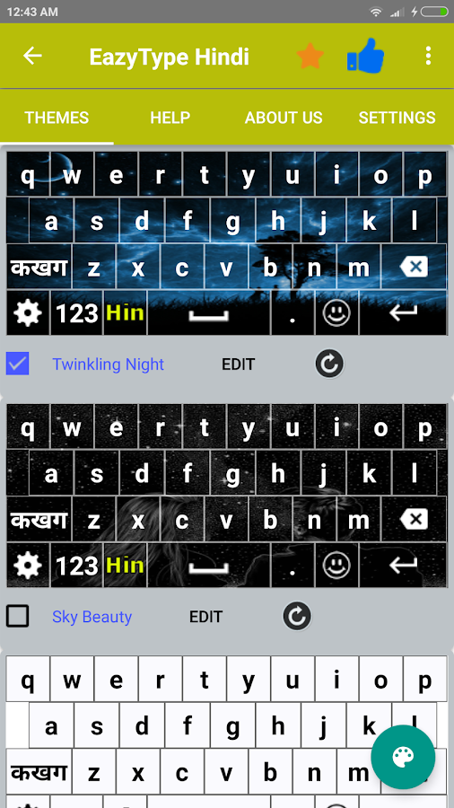 Easy Typing Hindi Keyboard- screenshot