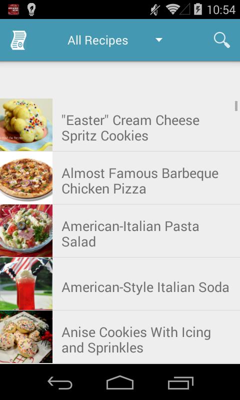 Italian Recipes Free - Android Apps on Google Play