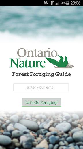 Ontario Nature Foraging Guide