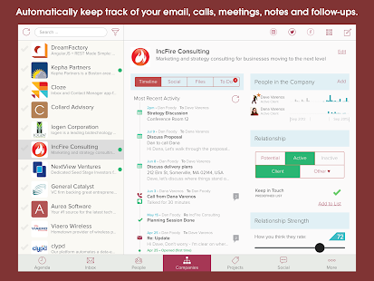 Contacts, Inbox and CRM in One- screenshot thumbnail