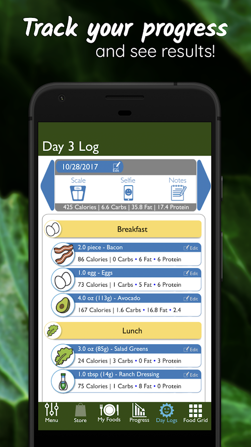 Stupid Simple Paleo Diet Tracking & Guide- screenshot