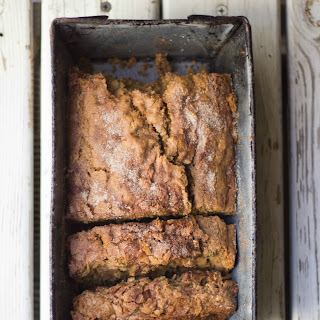 Cinnamon Crunch Zucchini Banana Bread Recipe