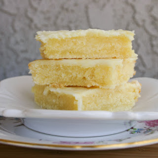 """Cakey Lemon Bar """"Brownies"""""""