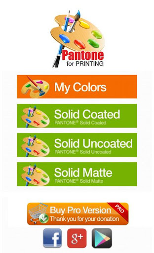 pColor Pantone for Printing