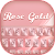Rose Gold Silk Keyboard Theme file APK for Gaming PC/PS3/PS4 Smart TV