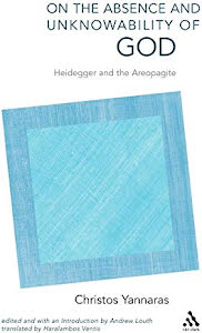 ON THE ABSENCE AND UNKNOWABILITY OF GOD HEIDEGGER AND THE AREOPAGITE