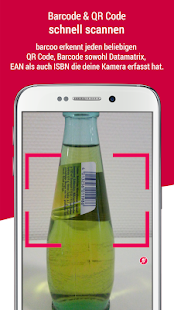 barcoo - QR Scanner. Inhalte per Barcode checken Screenshot
