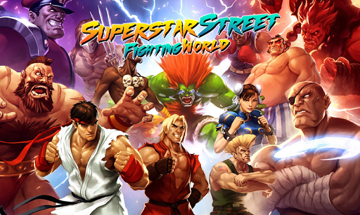 Street Fighting World : Superstar 3D