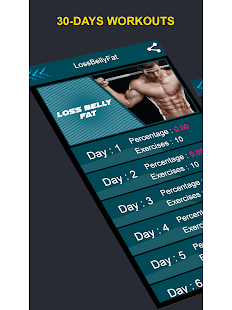 SixPack Abs - Daily Body Building Exercise at Home Screenshot
