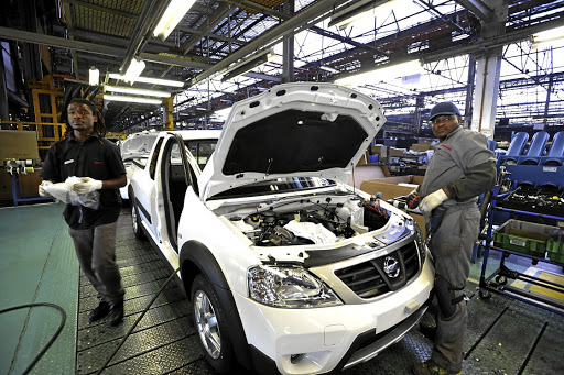 Making cars: The Nissan Motor car plant in Rosslyn, Pretoria. Nissan is among the automotive companies that produce 600,000 vehicles a year in SA. Picture: SUPPLIED