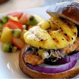 Hawaiian Chicken Sandwich.