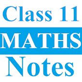 Class 11 Maths Notes