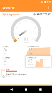 Speedtest - Internet (WiFi/Mobile data) - náhled