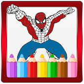 Super Heroes Coloring Book