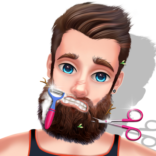 Celebrity Stylist Beard Makeover - Spa salon game Icon