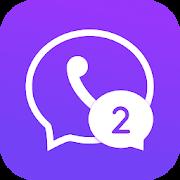 Multichat - 2 accounts for 2 whatsapp & App clone