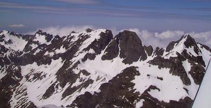 Photo: Pène Taillade et pène Det Pourri 2587 m.