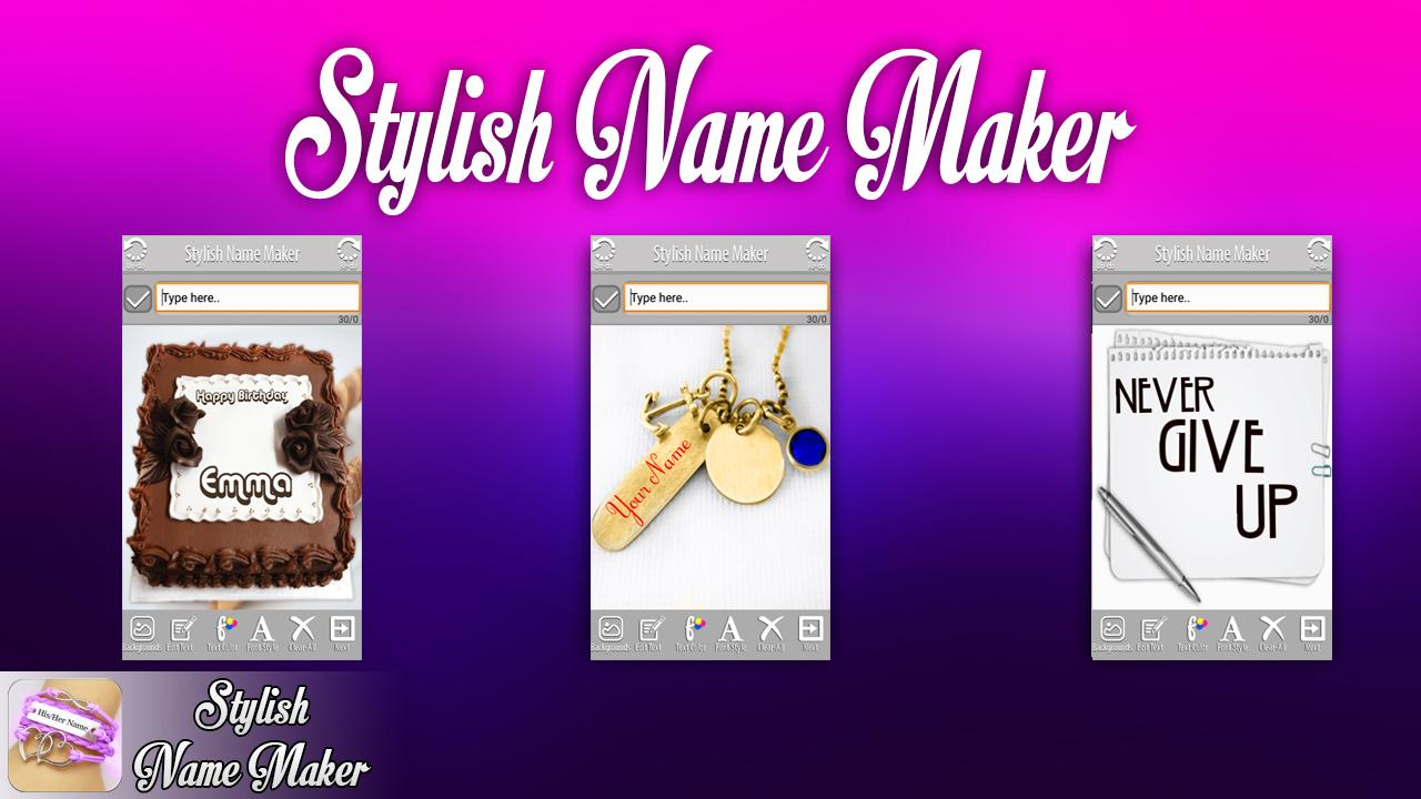 Stylish Name Maker- screenshot
