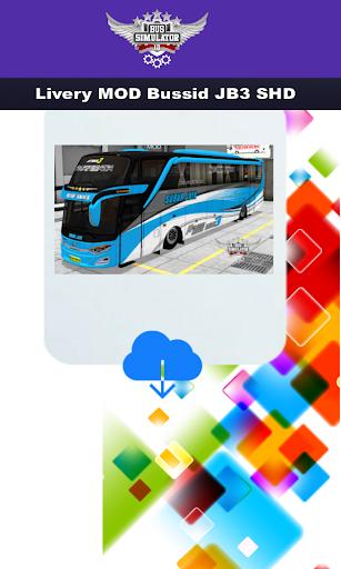 Livery MOD Bussid JB3 SHD 3.0 screenshots 2
