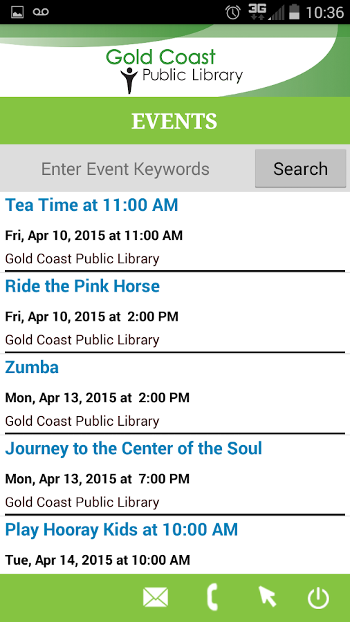 Nassau Public Libraries Mobile- screenshot