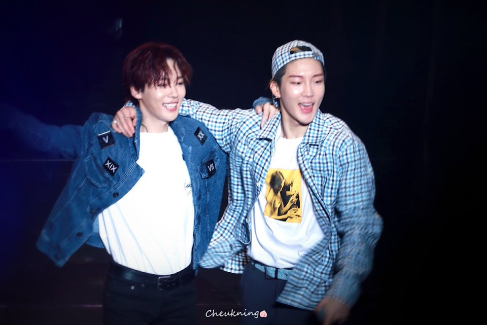 WINNER Jinwoo and Seunghoon