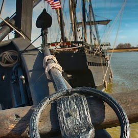 Nina & Pinta Replicas by Ray Ebersole - Artistic Objects Industrial Objects