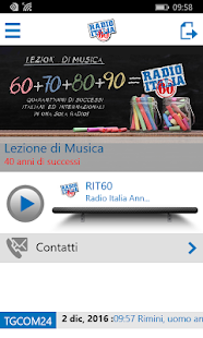 Radio Italia Anni 60- screenshot thumbnail