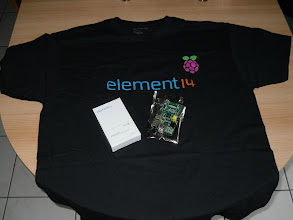 Photo: My second Raspberry Pi with Element 14 T-Shirt!