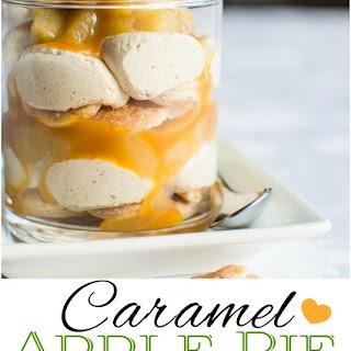 Caramel Apple Pie Parfaits