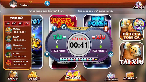 12fun game doi thuong uy tin so 1 quoc te 1.8.0 APK