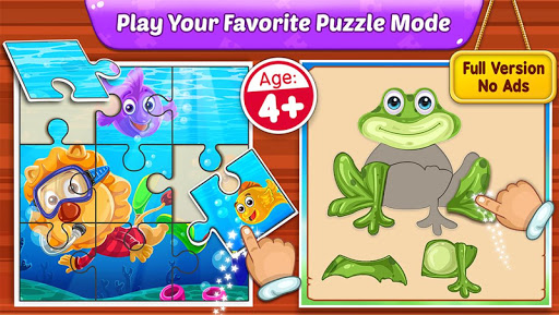 Puzzle Kids - Animals Shapes and Jigsaw Puzzles androidiapk screenshots 1