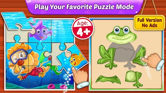 Puzzle Kids - Animals Shapes and Jigsaw Puzzles 1.3.2
