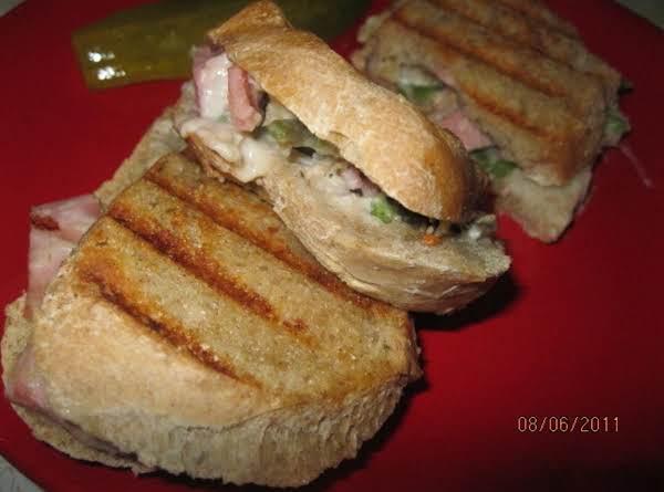 Ham-green-beans-cassandwich Recipe