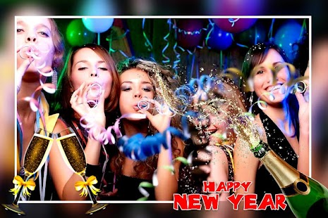 New Year Photo Editor : New Year Photo Frames - náhled