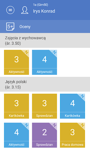 Dzienniczek+ screenshot