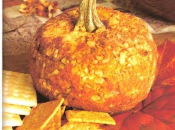 Holiday Pumpkin Cheese Ball Recipe