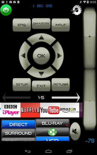 Remote for LG TV & LG Blu-Ray players screenshot 2