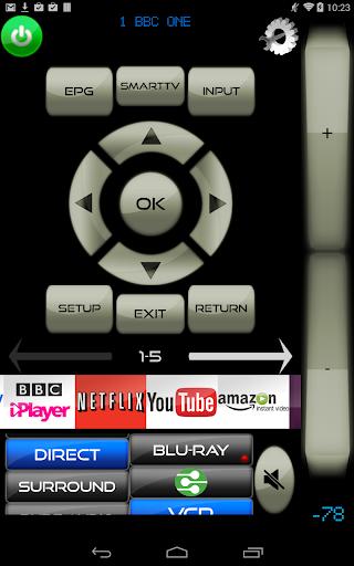 Remote for LG TV & LG Blu-Ray players screenshot 2