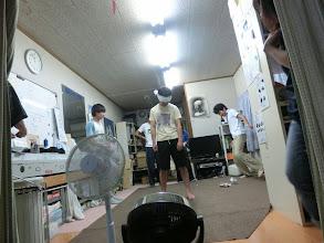 Photo: 目隠し鬼