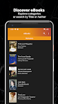 screenshot of Free Books & Audiobooks