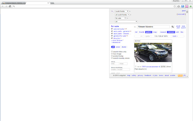 CraigList Search