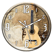 Guitar Clock Live Wallpaper